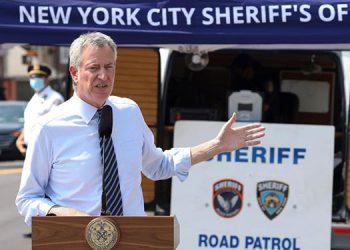 El alcalde de Nueva York, Bill de Blasio. EFE