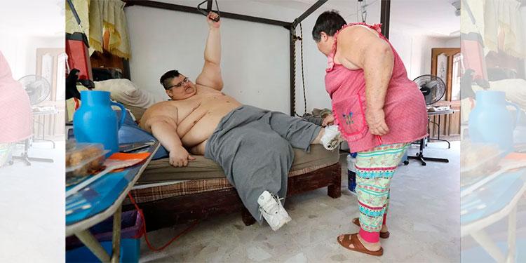 Hombre más gordo del mundo sobrevivió al coronavirus pero perdió a sus padres