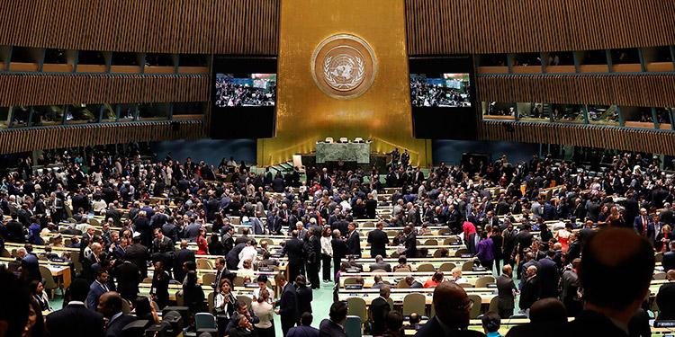 El mundo se da cita virtual en una Asamblea de la ONU marcada por la COVID-19