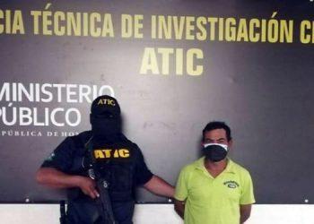 El encausado fue detenido ayer por la ATIC.