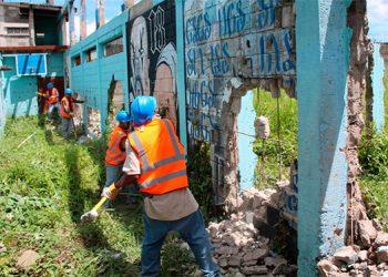 """Comienza demolición del módulo """"Escorpión en Támara (Galería)"""