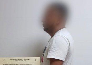Alber Javier Castro Martínez fue remitido al Centro Penitenciario de Siria en El Porvenir, Francisco Morazán.