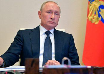 Putin tacha de 'infundadas' acusaciones a Rusia en el caso Navalni