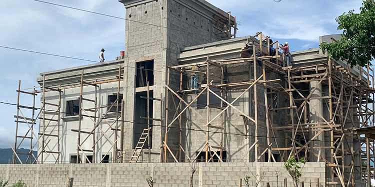 Las construcciones, así como las remodelaciones están avanzadas en más de un 90 por ciento.