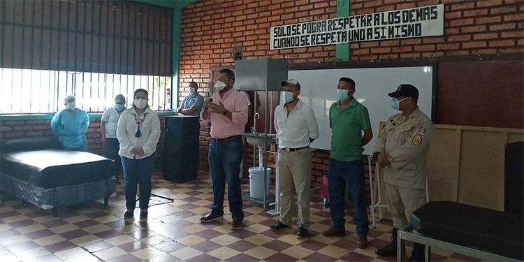 Instalan centro de triage en Sabanagrande