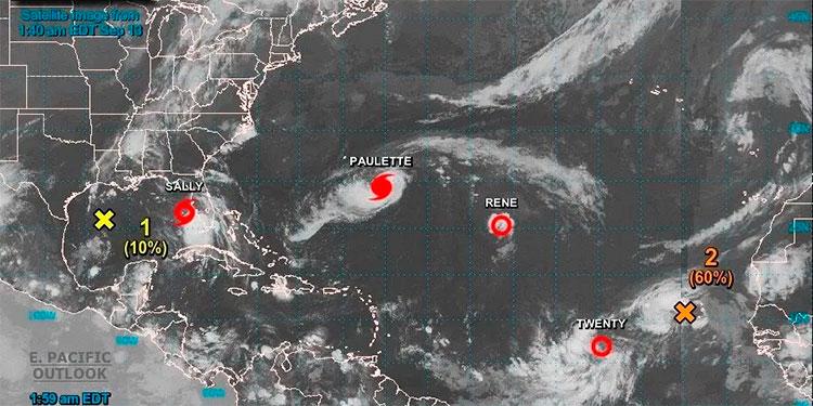 Sally amenaza con atacar el sur de Louisiana como huracán de categoría 2