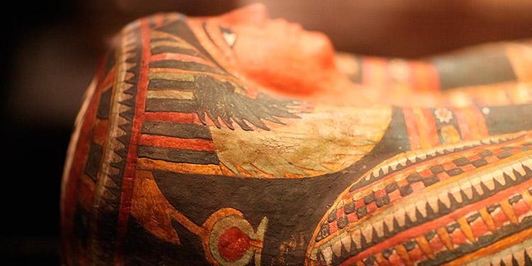Descubren catorce sarcófagos de hace 2,500 años en Saqqara, Egipto