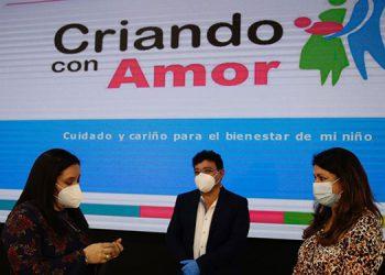 La esposa del mandatario hondureño agradeció el respaldo del equipo de técnicos del programa Criando con Amor.