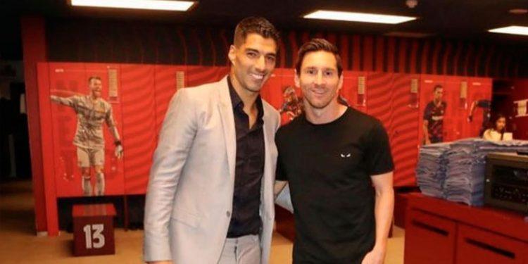"""Messi sobre el adiós de Suárez: """"A esta altura"""
