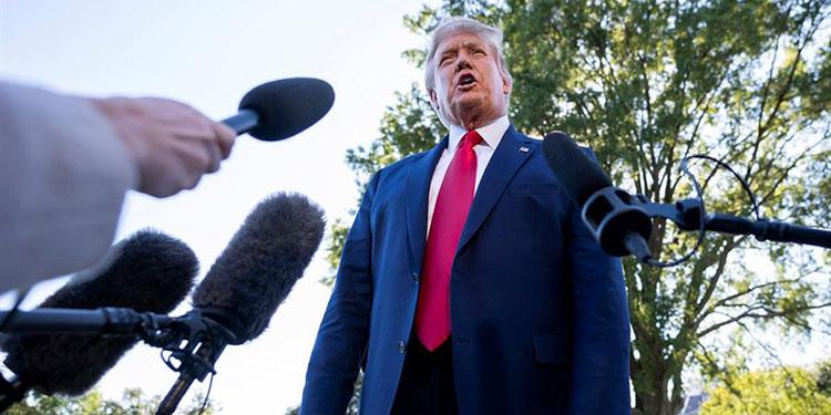 """Trump amenaza con tumbar acuerdo para TikTok si EEUU no tiene """"control total"""""""