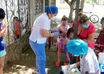 Salud vacunará a unos 50 mil niños en SPS