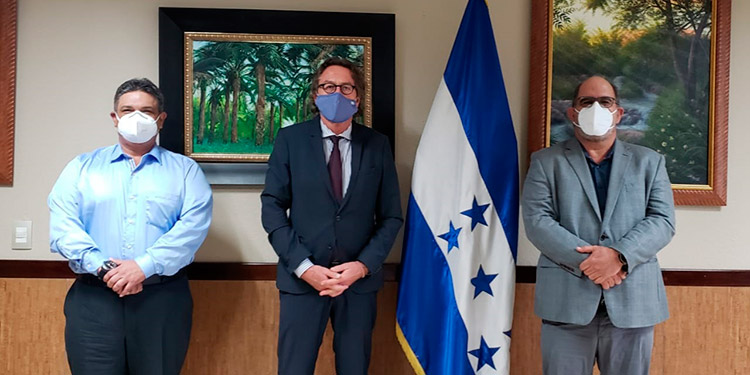 Alemania y Honduras abordan iniciativas y proyectos agrícolas
