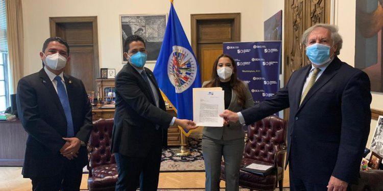 Partido Nacional pide a la OEA misión de observación electoral