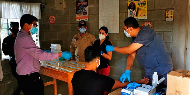 Baja incidencia de casos graves de COVID-19 en Siguatepeque