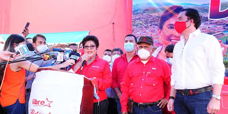 Belinda Martínez fue oficialmente postulada a la alcaldía.