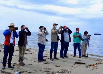 La actividad fue realizada gracias al apoyo del Club de observación de aves.