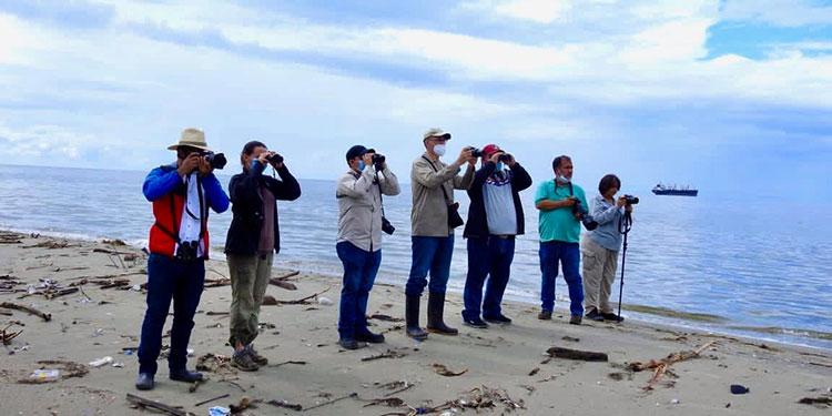 En Puerto Cortés se celebró el Global Bird Weekend