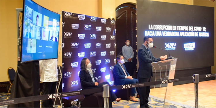 CNA divulga informe sobre manejo de fondos en la pandemia