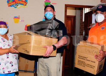 COPECO entrega 1,500 pruebas rápidas a centro de triaje de UNICAH