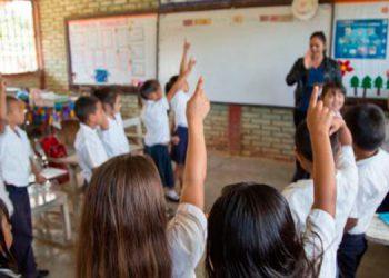 La educación primaria tiene cobertura del 95 por ciento, la cual comienza a caer, a partir de los 12 años.