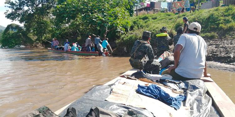 Ejércitos de Honduras y Nicaragua rastrean delincuentes en la frontera