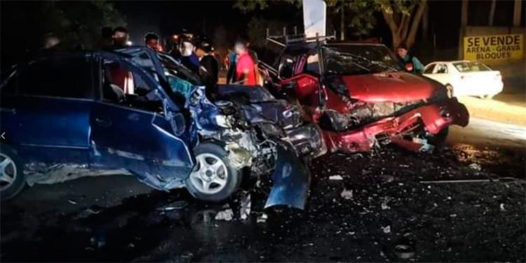 Honduras registra 85 accidentes viales solo fin de semana