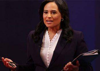 Kristen Welker, periodista de la NBC