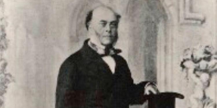 Frederick Chatfield, cónsul inglés.