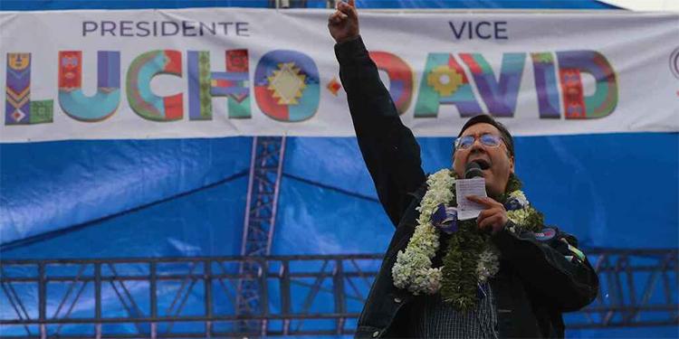 Recuento del 90% de votos ratifica contundente triunfo de Arce en Bolivia