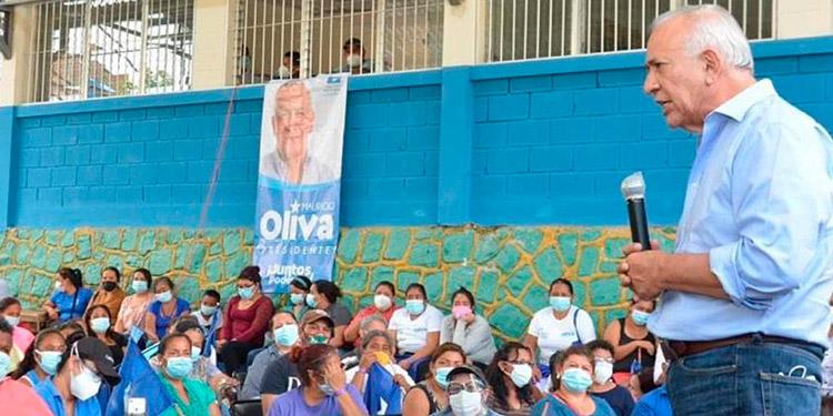 """Mauricio Oliva: """"No tengo fierro, este partido es de las mujeres y los jóvenes"""""""