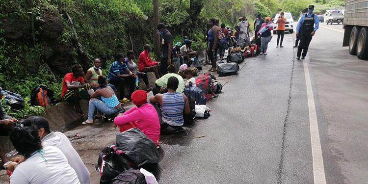 En los últimos tiempos, la mayoría de extranjeros que ingresan al país de manera irregular son de Haití y Cuba.