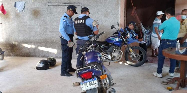 """Las """"motos"""" estaban en una vivienda de Monjarás."""
