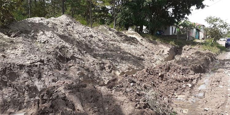 Unos 700 metros de muro perimetral se construirán en el bosque Calanterique.