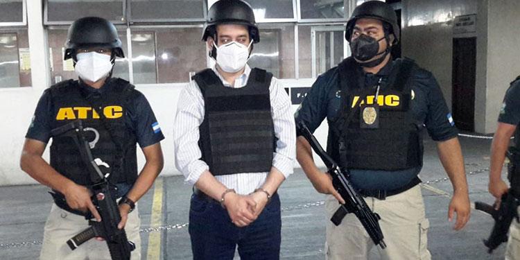 Detención judicial para Marco Bográn