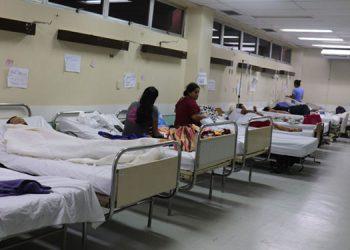 La Sesal realizará una inversión para mejorar las condiciones de las salas de COVID-19 en la zona norte.