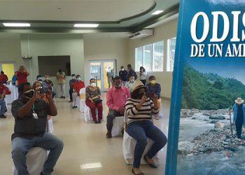 """A la presentación del libro """"Odisea de un Americano"""" (foto inserta) se invitó a autoridades de Olancho, la UNAG y medios de comunicación social."""