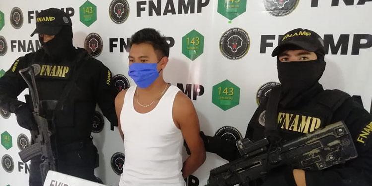 Christopher David Sánchez Cerrato, supuestamente pretendía reestructurar la pandilla 18 en Amarateca.