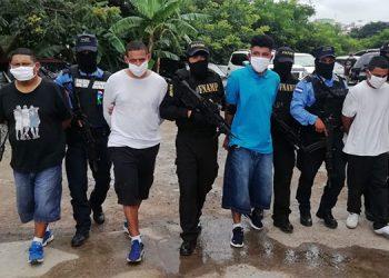 Los cuatro sujetos, según la FNAMP, mantenían atemorizados a pobladores de varias colonias, al norte de Comayagüela.