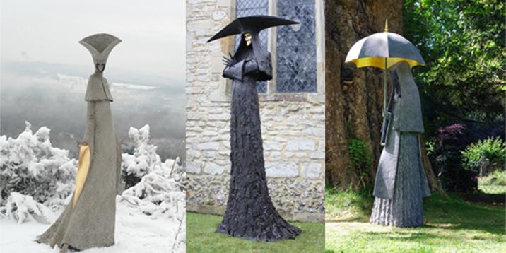 Las increíbles esculturas de artista inglés de las que todos hablan (Fotos)