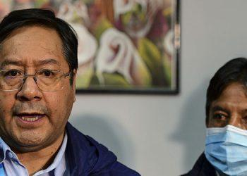 Un fiscal peruano citó como testigo al futuro presidente de Bolivia, Luis Arce, en una investigación que se le sigue al mandatario peruano, Martín Vizcarra, informó una fuente de la fiscalía.  (LASSERFOTO AFP)