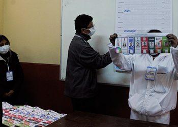 El órgano electoral anunció la suspensión del sistema rápido de difusión de resultados preliminares de la votación, aduciendo que no proporcionaría suficiente certeza en relación a los datos oficiales. (LASSERFOTO AFP)