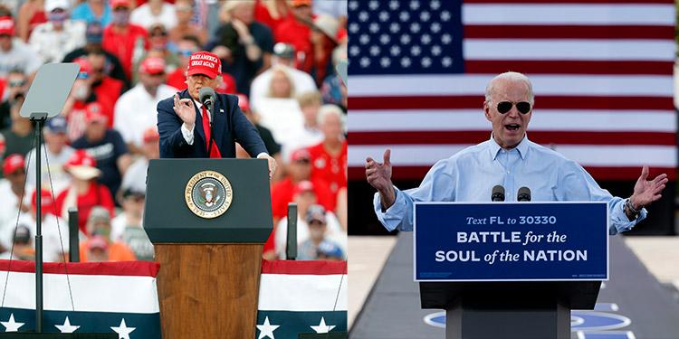 Economía y COVID-19 centran duelo Biden-Trump por Florida en recta final
