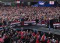 """Trump se concentraba en Pensilvania (noreste), """"el Estado donde comenzó la historia de la independencia estadounidense"""", (LASSERFOTO AFP)"""