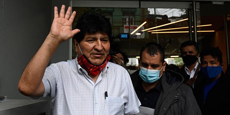 Evo Morales partió de Argentina rumbo a Venezuela