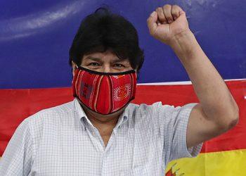 La justicia boliviana anuló la orden de detención contra el exmandatario izquierdista Evo Morales por supuestos delitos de terrorismo. (LASSERFOTO AFP)