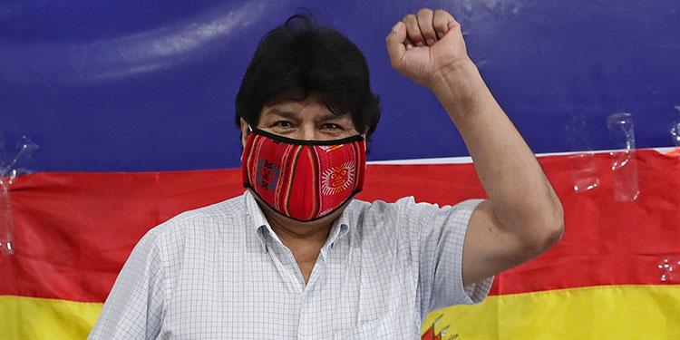 Evo Morales dice que tres países ofrecen tratarlo por COVID