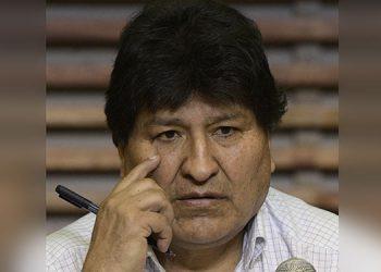Evo Morales. (LASSERFOTO  AFP)
