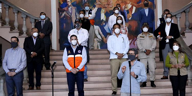 Fuerza Honduras consiste en implementar centros de triaje especiales para combatir la pandemia de COVID-19.