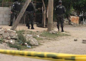 A la zona llegaron elementos de la Policía Militar para acordonar el área y comenzar las investigaciones.