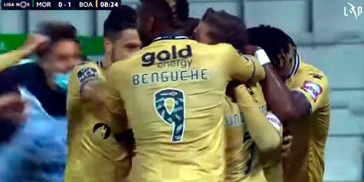 Benguché titular en empate del Boavista